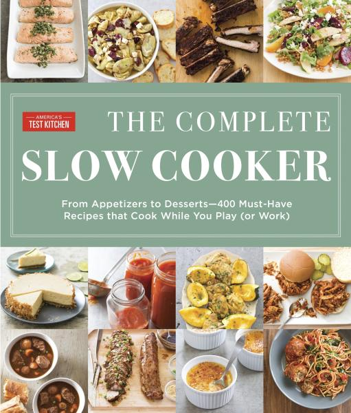 "This image provided by America's Test Kitchen in February 2019 shows the cover for the cookbook ""The Complete Slow Cooker."" It includes a recipe for Chicken Enchiladas. (America's Test Kitchen via AP)"