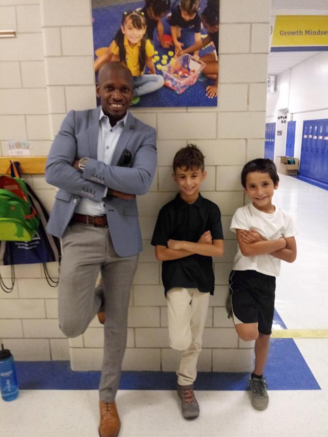 Michael Atkins is now principal at a Denver elementary school, but he started as a custodian. (Photo: Courtesy of Michael Atkins)