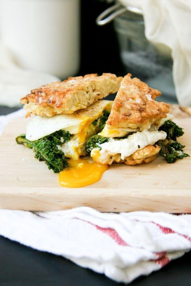 """<p>Turns out you can still eat delicious, cheesy breakfast sandwiches during Passover. Who needs bagels? </p><p><em><a href=""""https://iwillnoteatoysters.com/58/"""" rel=""""nofollow noopener"""" target=""""_blank"""" data-ylk=""""slk:Get the recipe from I Will Not Eat Oysters »"""" class=""""link rapid-noclick-resp"""">Get the recipe from I Will Not Eat Oysters »</a></em></p>"""