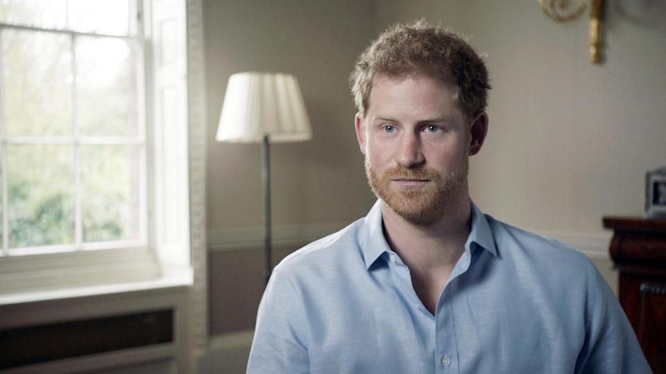 Prince Harry opened up in new documentary 7 Days (Picture: BBC)