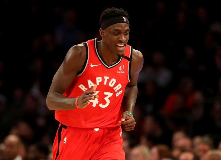 Pascal Siakam scored 25 of his 37 points in the first half as the Toronto Raptors beat Phoenix for their 16th win in the last 17 games