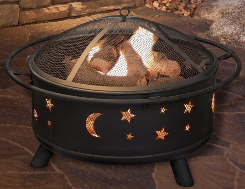 Wayfair has a sale on fire pits and they'll totally transform your backyard. (Credit: Wayfair)
