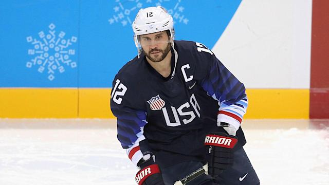 After his stint as team captain for the Americans in the Winter Olympics, the Bruins signed Gionta to a one-year deal worth $700,000.