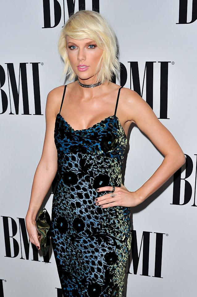 <p>Once Taylor Swift went with brighter blond hair, she never went back. (Photo: WireImage) </p>