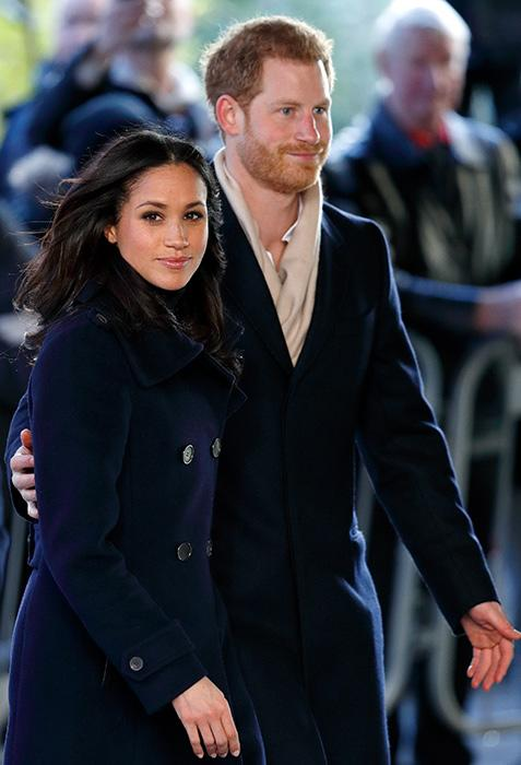 Meghan Markle and Prince Harry together in Nottingham