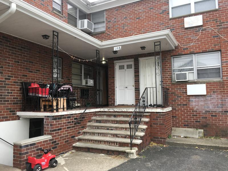 The exterior of the apartment Saipov was renting in Paterson, New Jersey. (Christopher Mathias/HuffPost)