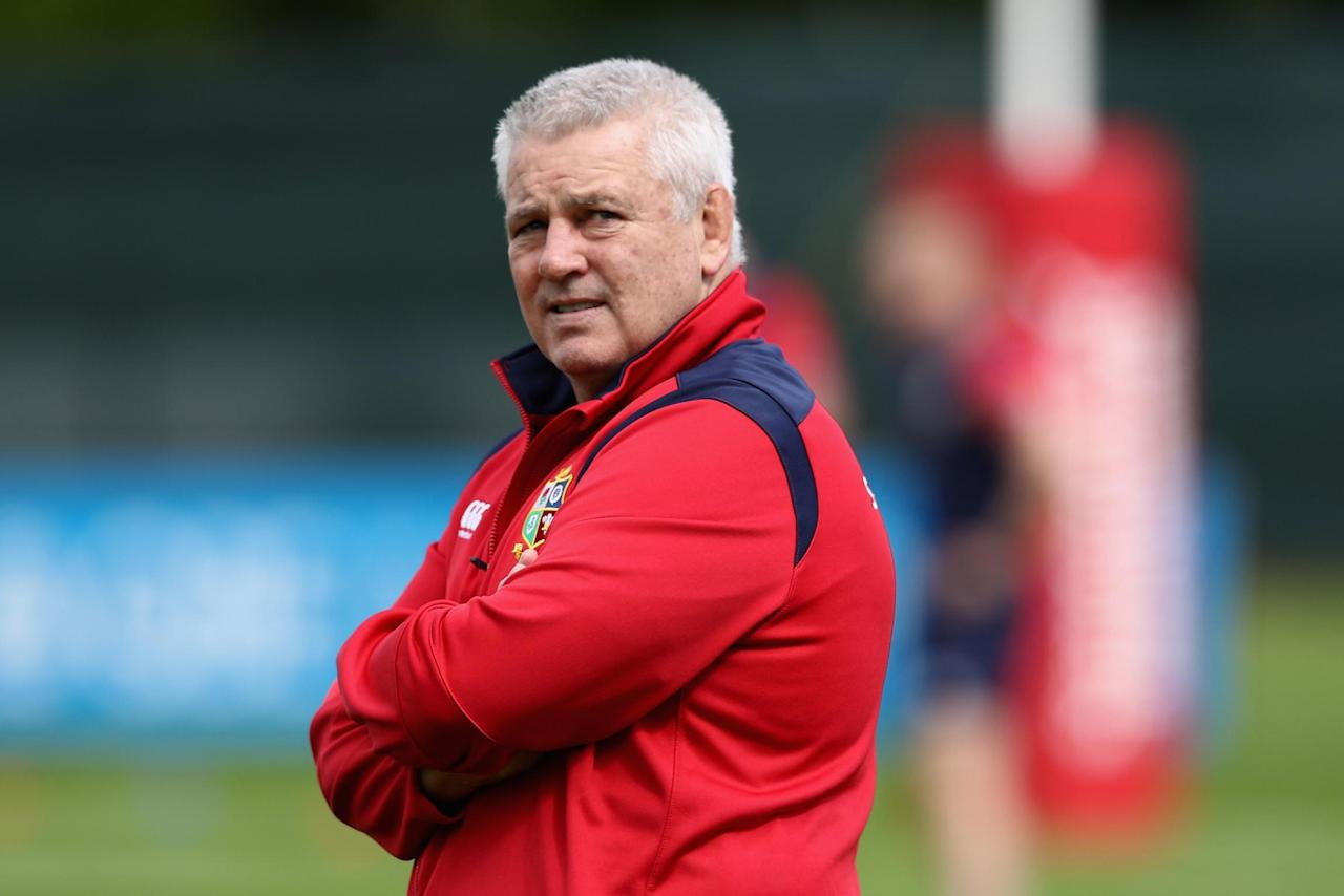 Warren Gatland pleased with Lions' fitness despite Billy Vunipola withdrawal