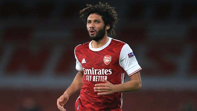 Mohamed Elneny positive for Covid-19 as Premier League reports rise in cases