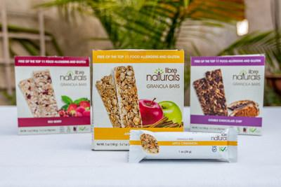 Libre Naturals has a range of snack bars that taste amazing and are free from the top 10 allergens and gluten. (PRNewsfoto/S CAP)