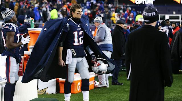"<p>There are many ways to respond to the rumors that <strong>Tom Brady</strong> might not be 100% healthy. After word <a href=""https://www.bostonglobe.com/sports/patriots/2018/01/17/tom-brady-cancels-media-session-meet-with-medical-staff/Y3TSGLiVGgFcf1oxJD6kYJ/story.html"" rel=""nofollow noopener"" target=""_blank"" data-ylk=""slk:circulated"" class=""link rapid-noclick-resp"">circulated</a> that the 40-year-old jammed his right hand and suffered a cut during a handoff Wednesday—and even more so after he missed practice Thursday—we saw just about all of those ways play out. From afar, Dr. David Chao <a href=""http://www.sandiegouniontribune.com/sports/profootballdoc/sd-sp-pfd-brady-hand-finger-dislocation-0118-story.html"" rel=""nofollow noopener"" target=""_blank"" data-ylk=""slk:suggested"" class=""link rapid-noclick-resp"">suggested</a> Brady may have an open finger dislocation. Riley McAtee <a href=""https://www.theringer.com/nfl-playoffs/2018/1/18/16906646/tom-brady-thumb-injury-new-england-patriots"" rel=""nofollow noopener"" target=""_blank"" data-ylk=""slk:investigated"" class=""link rapid-noclick-resp"">investigated</a> reports that Brady's thumb looked boxy in a glove during the open period of practice by looking at blown-up photos (then again, whose thumb doesn't look weird at 12x). Doug Kyed <a href=""https://nesn.com/2018/01/patriots-took-tom-bradys-injury-lightly-which-seems-like-a-good-sign/"" rel=""nofollow noopener"" target=""_blank"" data-ylk=""slk:analyzed"" class=""link rapid-noclick-resp"">analyzed</a> the humor in teammates' responses to questions about the hand and came away optimistic. Jaguars defensive tackle <strong>Malik Jackson</strong> also <a href=""http://profootballtalk.nbcsports.com/2018/01/18/malik-jackson-isnt-buying-that-tom-brady-is-injured/"" rel=""nofollow noopener"" target=""_blank"" data-ylk=""slk:seemed"" class=""link rapid-noclick-resp"">seemed</a> to doubt the seriousness of Brady's condition.</p><p>Surely, we'll get many more suggestions, investigations, analyses, and doubts today as Brady is scheduled to put his hands on the podium and speak to the media. But this is far from the first instance of panic over Brady's health before a big game. Remember Brady's ""<a href=""https://nesn.com/2014/01/report-tom-brady-will-start-in-afc-championship-game-could-be-sick/"" rel=""nofollow noopener"" target=""_blank"" data-ylk=""slk:flu-like"" class=""link rapid-noclick-resp"">flu-like</a>"" symptoms before the 2014 AFC championship game in Denver? Or the boot he was <a href=""http://archive.boston.com/sports/football/patriots/articles/2008/01/21/brady_spotted_in_what_appears_to_be_walking_boot/"" rel=""nofollow noopener"" target=""_blank"" data-ylk=""slk:spotted"" class=""link rapid-noclick-resp"">spotted</a> in before Super Bowl XLII? In January 2005, he had a 103-degree fever the night before the AFC title game. </p><p>He lost two of those three games. So, what does that tell us? Absolutely nothing, of course. We won't know a thing about Brady's hand until he takes the field Sunday, when he will be closely watched every time he drops back to pass. As usual.</p><p><b><i>Not getting this newsletter in your inbox yet?</i></b> <a href=""https://www.si.com/static/newsletter/signup"" rel=""nofollow noopener"" target=""_blank"" data-ylk=""slk:Join The MMQB's Morning Huddle"" class=""link rapid-noclick-resp""><i>Join The MMQB's Morning Huddle</i></a><i>.</i></p><h3><strong>HOT READS</strong></h3><p><b>NOW ON THE MMQB: </b>You must read Jenny Vrentas' <a href=""https://www.si.com/nfl/2018/01/18/bill-belichick-nick-saban-friendship-relationship-patriots-alabama-browns?utm_campaign=mmqb&utm_source=si.com&utm_medium=email"" rel=""nofollow noopener"" target=""_blank"" data-ylk=""slk:story of the 36-year friendship"" class=""link rapid-noclick-resp"">story of the 36-year friendship</a> between <strong>Nick Saban</strong> and <strong>Bill Belichick</strong> ... Conor Orr makes <a href=""https://www.si.com/nfl/2018/01/18/malcolm-jenkins-philadelphia-eagles-2018-nfl-playoffs-jim-schwartz"" rel=""nofollow noopener"" target=""_blank"" data-ylk=""slk:the case for"" class=""link rapid-noclick-resp"">the case for</a> <strong>Malcolm Jenkins</strong> as the Eagles' most important player Sunday ... Robert Klemko <a href=""https://www.si.com/nfl/2018/01/18/jacksonville-jaguars-doug-marrone-marcell-dareus-buffalo-bills"" rel=""nofollow noopener"" target=""_blank"" data-ylk=""slk:spoke with"" class=""link rapid-noclick-resp"">spoke with</a> <strong>Marcell Dareus</strong> about how <strong>Doug Marrone</strong> has changed since leaving Buffalo ... <a href=""http://www.si.com/nfl"" rel=""nofollow noopener"" target=""_blank"" data-ylk=""slk:and more."" class=""link rapid-noclick-resp"">and more.</a></p><p><b>LATER TODAY:</b> Conor Orr debuts the misery rankings ... Tim Rohan talks football with <strong>Tony Boselli</strong> ... Andy Benoit deep dives <strong>Nick Foles</strong> ... and more. <a href=""https://www.si.com/nfl?utm_campaign=mmqb&utm_source=si.com&utm_medium=email"" rel=""nofollow noopener"" target=""_blank"" data-ylk=""slk:Stay tuned"" class=""link rapid-noclick-resp"">Stay tuned</a>.</p><p><b>WHAT YOU MAY HAVE MISSED:</b> Ben Baskin <a href=""https://www.si.com/nfl/2018/01/17/case-keenum-eagles-vikings-nfc-championship-game"" rel=""nofollow noopener"" target=""_blank"" data-ylk=""slk:asked"" class=""link rapid-noclick-resp"">asked</a> <strong>Case Keenum</strong> about his miracle touchdown ... Conor Orr (that guy's busy, huh) <a href=""https://www.si.com/nfl/2018/01/16/scouting-new-england-patriots-using-steve-belichicks-scouting-manual"" rel=""nofollow noopener"" target=""_blank"" data-ylk=""slk:scouted"" class=""link rapid-noclick-resp"">scouted</a> the Patriots using <strong>Steve </strong><strong>Belichick</strong>'s manual ... <a href=""https://www.si.com/nfl"" rel=""nofollow noopener"" target=""_blank"" data-ylk=""slk:and more"" class=""link rapid-noclick-resp"">and more</a>.</p><h3><b>PRESS COVERAGE</b></h3><p><strong>1</strong>. A new study, published in <i>Brain</i>, <a href=""https://www.npr.org/sections/health-shots/2018/01/18/578355877/repeated-head-hits-not-concussions-may-be-behind-a-type-of-chronic-brain-damage"" rel=""nofollow noopener"" target=""_blank"" data-ylk=""slk:found"" class=""link rapid-noclick-resp"">found</a> that subconcussive hits can lead to CTE (the full study is <a href=""https://academic.oup.com/brain/advance-article/doi/10.1093/brain/awx350/4815697"" rel=""nofollow noopener"" target=""_blank"" data-ylk=""slk:here"" class=""link rapid-noclick-resp"">here</a> if you're interested). ""We're really worried about the many more people who are getting hit and getting hurt—their brain is getting hurt—but are not getting help because we can't see the evidence on the outside that their brain is actually hurt,"" said Dr. Lee Goldstein, the study's lead investigator. ""It's a silent injury.""? Meanwhile, some former players <a href=""https://www.newsday.com/sports/football/nfl-concussion-flag-football-harry-carson-1.16246288"" rel=""nofollow noopener"" target=""_blank"" data-ylk=""slk:are hoping"" class=""link rapid-noclick-resp"">are hoping</a> kids won't play tackle football before age 14.</p><p><strong>2. </strong>Following the apparent suicide of Washington State quarterback <strong>Tyler Hilinski</strong>, former Cougars QB <strong>Drew Bledsoe</strong> posted a heartfelt message on Instagram. ""As men we have to learn to TALK about how we are feeling. Suicide is the #2 killer of men between 18-45!!,"" he <a href=""https://www.instagram.com/p/BeEh6wmHmh2/?hl=en&taken-by=drewbledsoe"" rel=""nofollow noopener"" target=""_blank"" data-ylk=""slk:wrote"" class=""link rapid-noclick-resp"">wrote</a>. ""Reaching out for help when we need it is NOT a sign of weakness. Trusting your friends and asking for help is the ultimate sign of STRENGTH!!""</p><p><b>3. </b>""I know your first question,"" Falcons coach <strong>Dan Quinn</strong> <a href=""http://www.ajc.com/atlanta-falcons-news-today/"" rel=""nofollow noopener"" target=""_blank"" data-ylk=""slk:said"" class=""link rapid-noclick-resp"">said</a> Thursday, ""and I'm not even going to wait for it. Yes, Sark (embattled offensive coordinator <strong>Steve Sarkisian</strong>) is coming back in 2018.""</p><p><b>4.</b> Sunday, Vikings safety <strong>Terence Newman</strong> will play his 231st career game—and his first conference championship tilt. ""Words don't really do it,"" Newman <a href=""http://www.startribune.com/for-vikings-veteran-terence-newman-maybe-these-playoffs-have-a-payoff/469842563/"" rel=""nofollow noopener"" target=""_blank"" data-ylk=""slk:said"" class=""link rapid-noclick-resp"">said</a>. ""But knowing we have a chance. That's all anyone could ever ask for in anything in life—an opportunity, a chance to be great and do great things. We have a chance to do that.""?</p><p><strong>5. </strong>Two members of the Eagles' analytics team communicate with <strong>Doug Pederson</strong> during games. That's one of several tidbits in this <a href=""http://www.espn.com/blog/philadelphia-eagles/post/_/id/23896"" rel=""nofollow noopener"" target=""_blank"" data-ylk=""slk:story"" class=""link rapid-noclick-resp"">story</a> on Philadelphia's embrace of numbers.</p><p><b>6. </b>With Saints punter <strong>Thomas </strong><strong>Morstead</strong>'s charity having <a href=""http://www.espn.com/nfl/story/_/id/22143549/saints-punter-thomas-morstead-set-deliver-donations-vikings-fans-back-minnesota?sf179587049=1"" rel=""nofollow noopener"" target=""_blank"" data-ylk=""slk:received"" class=""link rapid-noclick-resp"">received</a> nearly $200,000 from Vikings fans, Josh Katzenstein set out to <a href=""http://www.nola.com/saints/index.ssf/2018/01/saints_vikings_extra_point.html"" rel=""nofollow noopener"" target=""_blank"" data-ylk=""slk:learn"" class=""link rapid-noclick-resp"">learn</a> how Morstead ended up running back onto the field for Sunday's meaningless extra point, setting off the giving spree.</p><p><strong>7.</strong> Take this for what you will: the Broncos staff will <a href=""https://www.denverpost.com/2018/01/18/senior-bowl-roster-broncos-baker-mayfield-josh-allen/"" rel=""nofollow noopener"" target=""_blank"" data-ylk=""slk:coach"" class=""link rapid-noclick-resp"">coach</a> <strong>Baker Mayfield</strong> and <strong>Josh Allen</strong> at the Senior Bowl.</p><p><strong>8. </strong>This is inside baseball, but also noteworthy: NFL chief spokesman <strong>Joe Lockhart</strong> is leaving the organization. ""After the season, I plan to take some time off, do some political commentary, maybe go back to teaching if I can find some students willing to listen,"" he <a href=""https://www.washingtonpost.com/news/sports/wp/2018/01/18/joe-lockhart-leaving-nfl-as-chief-spokesman/?utm_term=.742a37b8cfb1"" rel=""nofollow noopener"" target=""_blank"" data-ylk=""slk:reportedly wrote"" class=""link rapid-noclick-resp"">reportedly wrote</a> in a memo to league staff members. ""I will be available to all of you should an old man's advice ever be of interest.""?</p><p><b>9. </b>I'm not sure what the Detroit Free Press is going to have left to write about after <strong>Matt Patricia</strong> is actually announced as head coach. Here's another <a href=""https://www.freep.com/story/sports/nfl/lions/2018/01/18/detroit-lions-matt-patricia-coach/1016622001/"" rel=""nofollow noopener"" target=""_blank"" data-ylk=""slk:dive"" class=""link rapid-noclick-resp"">dive</a> by Dave Birkett, going back to Patricia's time growing up under two schoolteachers in Sherrill, N.Y.</p><p><strong>10. </strong>Ok, fine. Here's <a href=""http://www.espn.com/nfl/draft2018/insider/story/_/id/22134110"" rel=""nofollow noopener"" target=""_blank"" data-ylk=""slk:a mock draft"" class=""link rapid-noclick-resp"">a mock draft</a>. I won't tell anyone you clicked it.</p><p><b><i>Have a story you think we should include in tomorrow's Press Coverage?</i></b> <span><i>Let us know here.</i></span></p><h3><b>THE KICKER</b></h3><p>If <strong>Doug Marrone</strong> upsets the Patriots Sunday, he might have a group of first graders <a href=""http://jacksonville.com/sports/jaguars/2018-01-17/jaguars-notebook-bolles-first-graders-lend-marrone-helping-hand"" rel=""nofollow noopener"" target=""_blank"" data-ylk=""slk:to thank"" class=""link rapid-noclick-resp"">to thank</a>.</p><p><i>Question? Comment? Story idea?</i><i> Let the team know at </i><i><span>talkback@themmqb.com</span></i></p>"