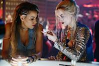 """<p><em>Birds of Prey</em>—full title <em>Birds of Prey (And the Fantabulous Emancipation of One Harley Quinn)</em>—had a female director, a female writer, and four female leads: a first in the superhero world. """"I remember when I was first pitching the project, I was struggling to find comparisons other than <em>Charlie's Angels</em>, which I adored when I was younger,"""" Robbie told <em>Glamour</em> in our <a href=""""https://www.glamour.com/story/birds-of-prey-cover-story?mbid=synd_yahoo_rss"""" rel=""""nofollow noopener"""" target=""""_blank"""" data-ylk=""""slk:January cover story"""" class=""""link rapid-noclick-resp"""">January cover story</a>. """"Then I was like, 'That's a long time ago.'"""" Not any more—with <em>Birds of Prey</em>, we finally have a superhero sisterhood to look up to.</p> <p><a href=""""https://www.amazon.com/Birds-Fantabulous-Emancipation-Harley-Quinn/dp/B084HQ4D1P"""" rel=""""nofollow noopener"""" target=""""_blank"""" data-ylk=""""slk:Available to stream on HBO Max"""" class=""""link rapid-noclick-resp""""><em>Available to stream on HBO Max</em></a></p>"""