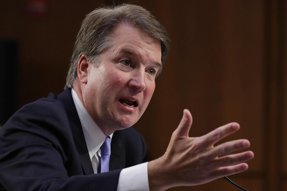 Brett Kavanaugh, President Trump's Supreme Court nominee, is accused of sexual assault by professor Christine Blasey Ford. (Photo: Getty Images)