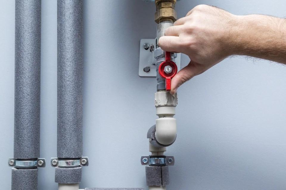 """When there's an emergency and you have to turn off your water, you need to know where to do so in order to avoid major damage. """"Plumbing utilities typically have individual valves that cut water supply to the specified location,"""" says Crawford. """"In an emergency or to inform the plumber, it's a good idea to locate your water main too."""""""