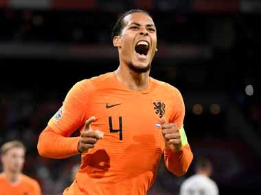 Euro 2020 qualifiers: Netherlands captain Virgil van Dijk withdraws from Estonia match for 'personal reasons'