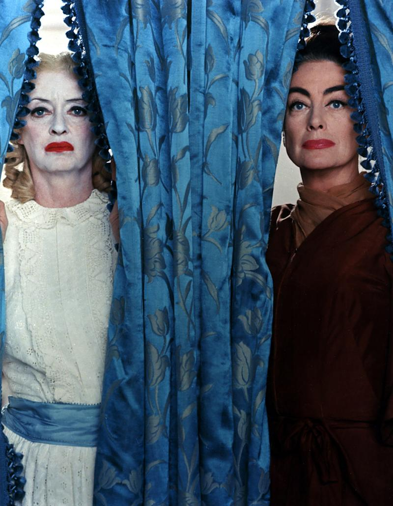 Whatever Happened to Baby Jane?, 1962 Costume Designer: Norma Koch The ultimate diva showdown, Whatever Happened to Baby Jane? pits Bette Davis against Joan Crawford for a scenery-chewing battle to the death. When it comes to costumes, nothing can top Davis in her powdered fright wig and smeared lipstick—a look she conceived herself to highlight Jane's descent into madness.