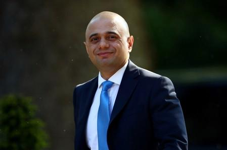 UK PM candidate Javid offers to pay for Brexit border solution