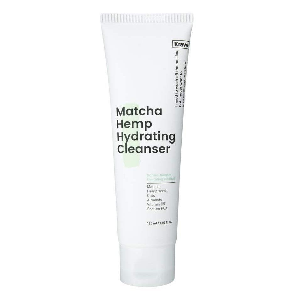 """<p>Although Krave's Krave Matcha Hemp Hydrating Cleanser main claim to fame is how skilled it is as not disrupting skin's barrier and keeping your complexion balanced and hydrated, its titular ingredients have another important job: adding antioxidant protection to the mix. There's no one who can't benefit from this formula, but it's especially awesome for dry skin types.</p> <p><strong>$16</strong> (<a href=""""https://kravebeauty.com/products/matcha-hemp-hydrating-cleanser"""" rel=""""nofollow noopener"""" target=""""_blank"""" data-ylk=""""slk:Shop Now"""" class=""""link rapid-noclick-resp"""">Shop Now</a>)</p>"""