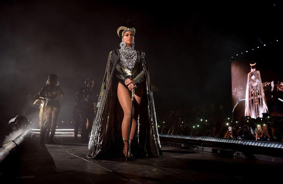 <p>Beyoncé's talent as a performer is only amplified by her fashion choices. Known for drawing upon imagery of goddesses and queens for her sartorial style, Mrs. Carter understands the significance of the spotlight and using it to tell a story. She empowers herself and her fans through bold looks that reference African-American culture, black deities and art history. Whether her references are obvious or just a slight nod, they always pack a punch. In honour of her birthday, we look back on 10 instances in which Beyoncé's style told a story, uncovering the most meaningful moments.</p>