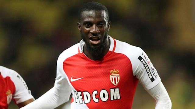 Monaco midfielder Tiemoue Bakayoko has completed his move to Premier League champions Chelsea, joining Antonio Rudiger at Stamford Bridge.