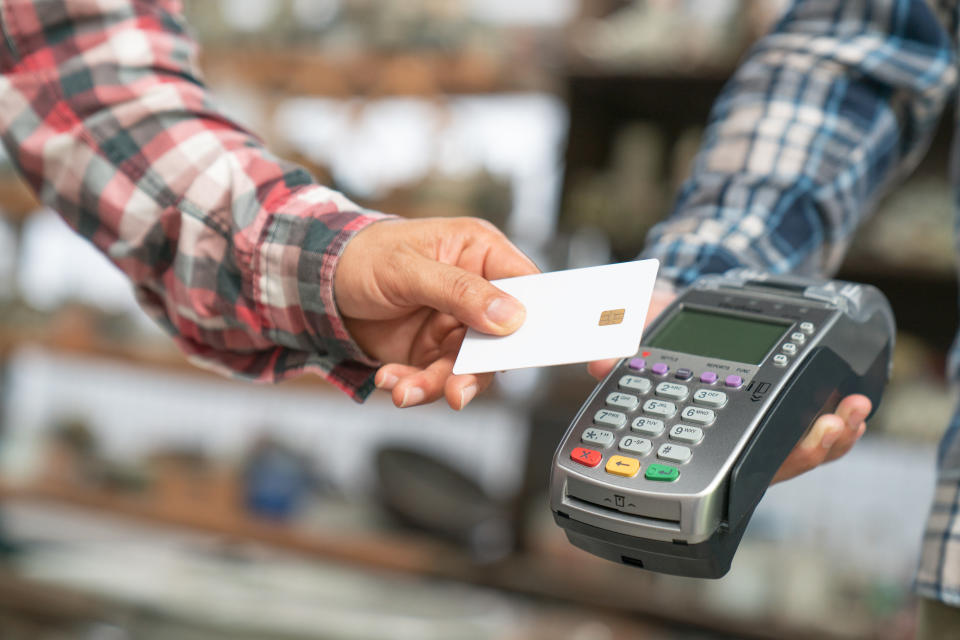 Debit cards have seen transaction fees rise by 22% to 7.2 pence per transaction. Photo: Getty
