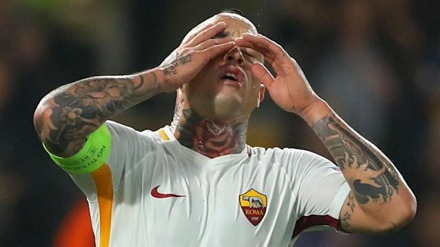 Roma midfielder Radja Nainggolan will not change his approach to football despite missing out on a place in Belgium's World Cup squad.