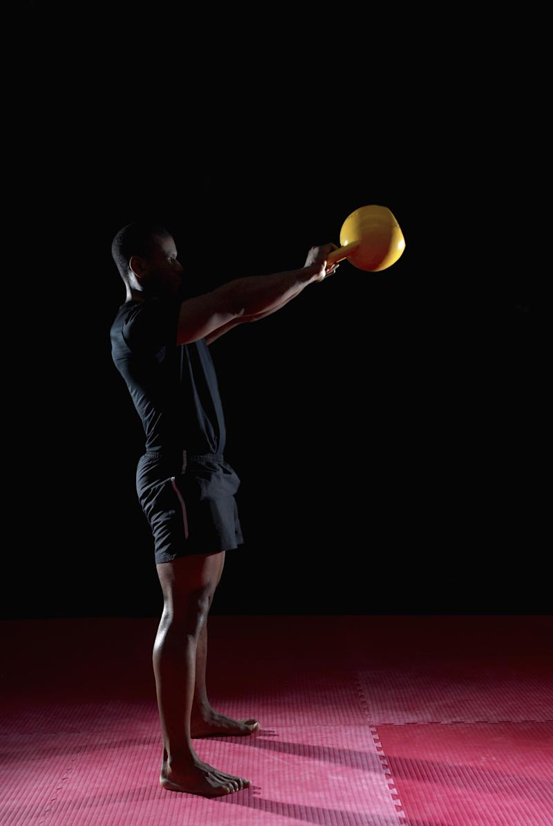 How to Do a Whole-Body Workout With Kettlebells