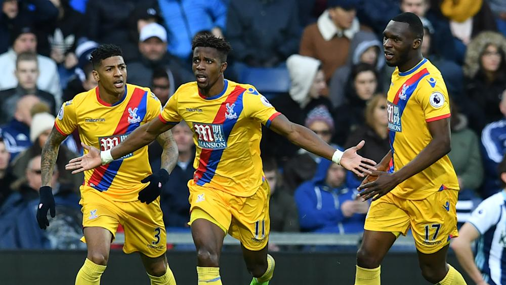 Wilfried Zaha West Brom Crystal Palace