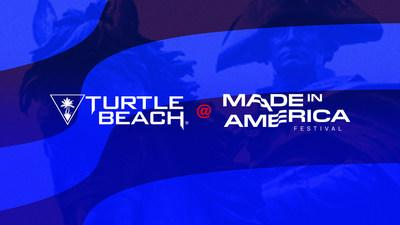 Turtle Beach brings gaming to the 2019 Made In America Festival as the Official Gaming Partner.