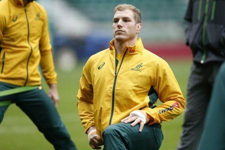 Britain Rugby Union - Australia Captain's Run - Twickenham Stadium - 2/12/16 Australia's David Pocock during the Captain's Run Action Images via Reuters / Andrew Boyers Livepic