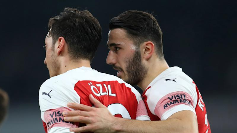Emery unsure when Ozil and Kolasinac will return for Arsenal