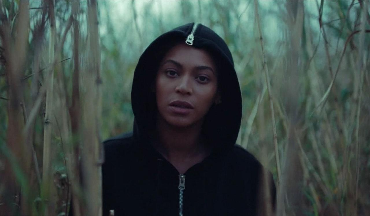 <p>When we first see Beyoncé's face, she makes sure all we see is that — her face.</p>