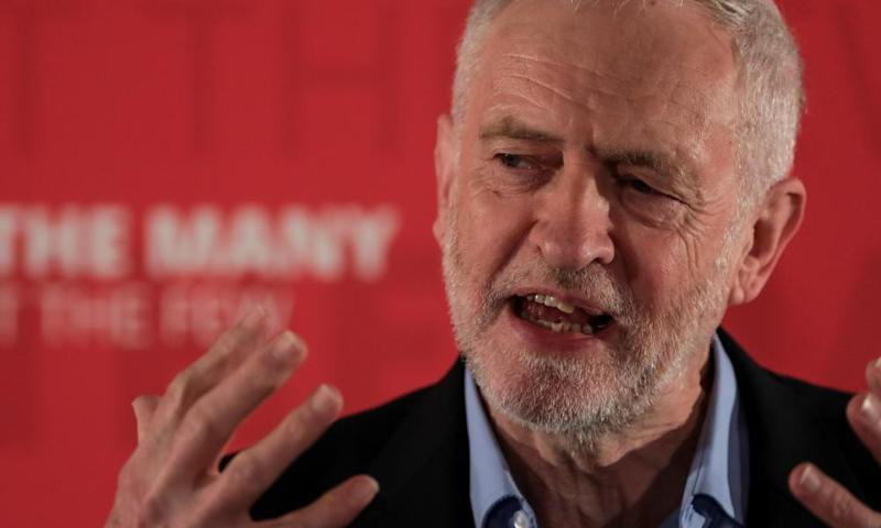 The difference in spending may not necessarily work against Labour, party officials insist, because Jeremy Corbyn is happy to portray himself as the down-to-earth leader against the slick Tory party machine.