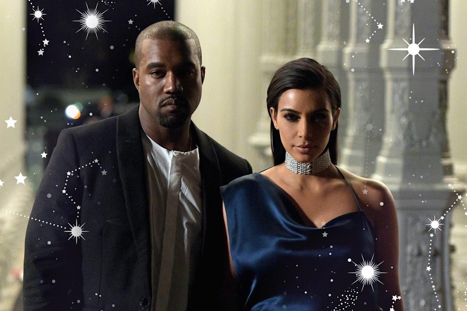Astrology Could Have Predicted Kim and Kanye's Divorce