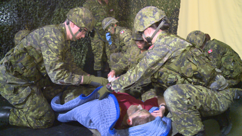 Reservists get medic training this weekend in Charlottetown