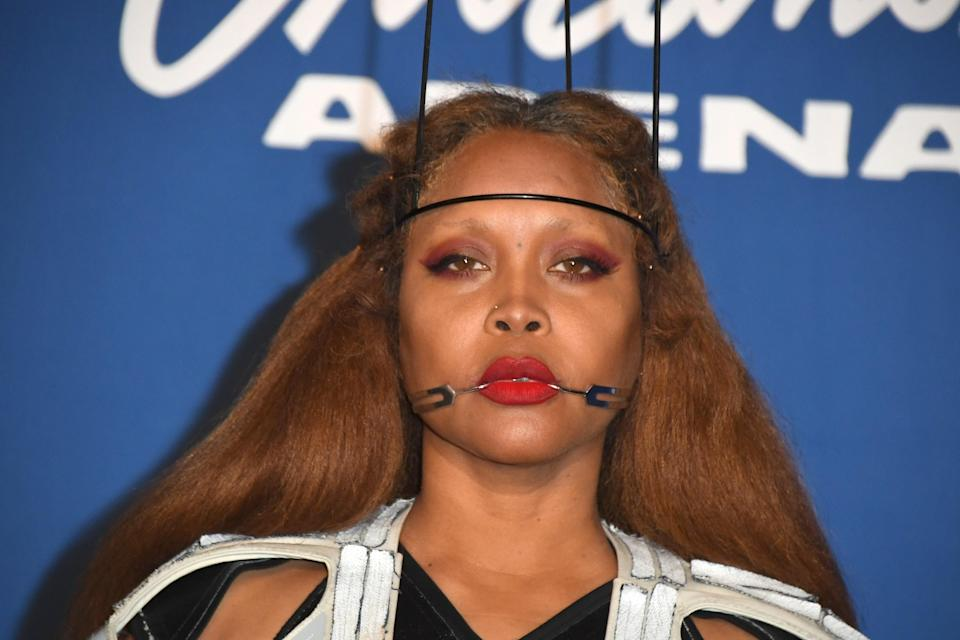 Erykah Badu (pictured in November) upset fans with her comments on R. Kelly. (Photo: Mindy Small/FilmMagic)