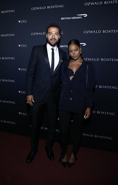 The pair attended the Ozwald Boateng Harlem runway show in New York on Sunday.
