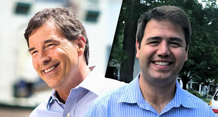 Republican Troy Balderson and Democrat Danny O'Connor (Photos: Balderson campaign, Tim Reid/Reuters)