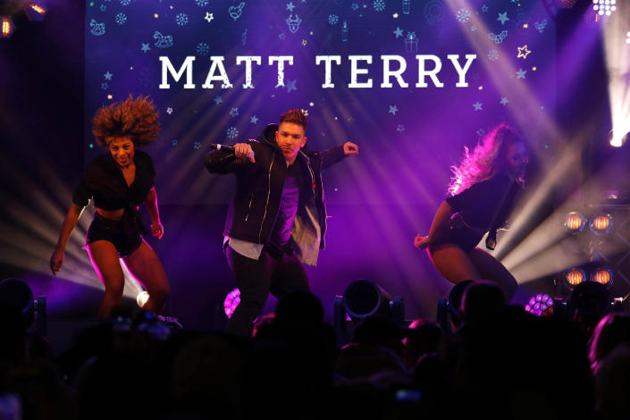 Matt Terry failed to get a number one with his winner's single. (PA)