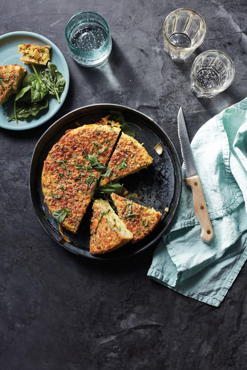 3 easy comfort food recipes that make us want an instant pot this view photos leek artichoke frittata forumfinder Images