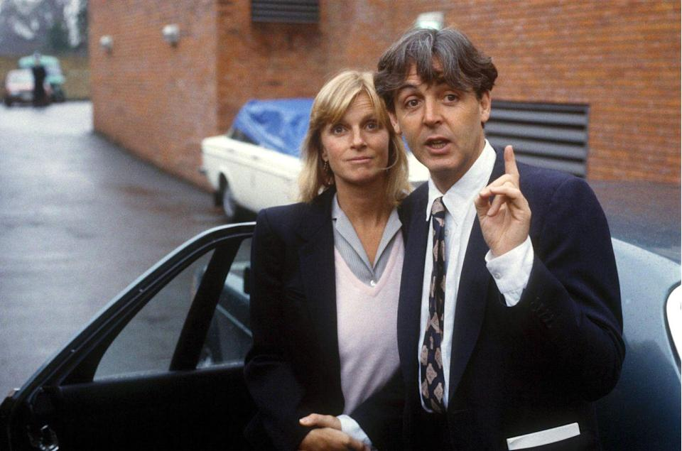 """<p>Beatles singer Paul McCartney has been married <a href=""""https://theblast.com/114952/the-matchmaker-behind-paul-mccartney-and-his-wife"""" rel=""""nofollow noopener"""" target=""""_blank"""" data-ylk=""""slk:three times"""" class=""""link rapid-noclick-resp"""">three times</a>. He was married to photographer Linda Eastman from 1969 until she died from breast cancer in 1998. He then married model Heather Mills from 2002-2008, and he married his current wife, heiress Nancy Shevell, in 2011.<br></p>"""