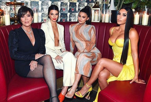 Kim Kardashian West flashed her shape wear during a recent appearance. (Photo: Getty Images)