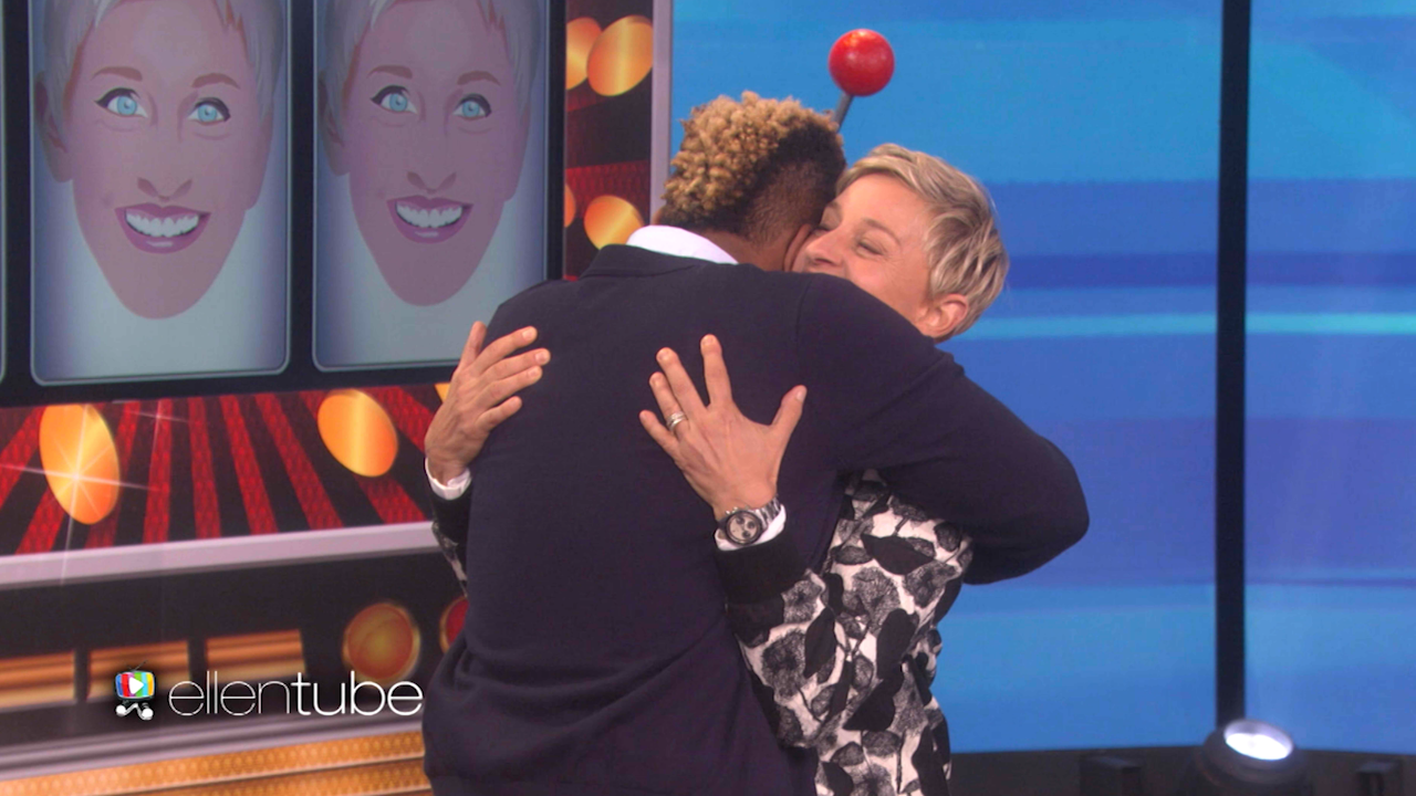 Ellen DeGeneres Surprises Indebted Grad Student With Gift of a Lifetime