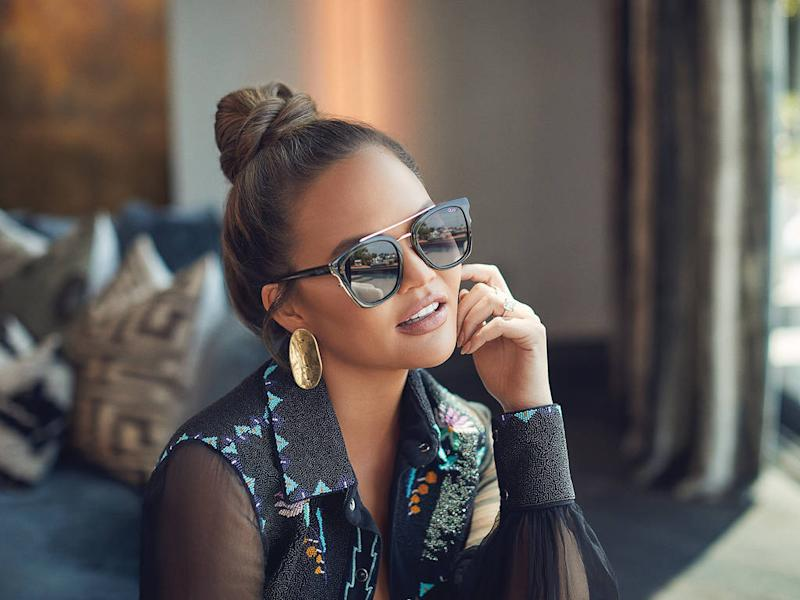 Chrissy Teigen tapped to front eyewear campaign