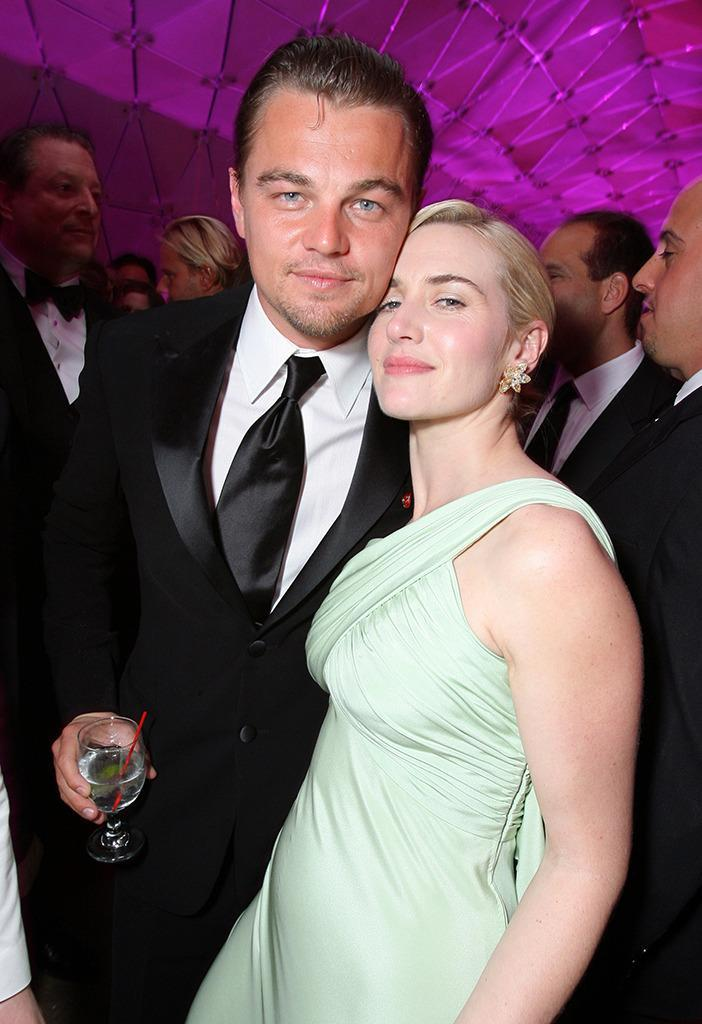 """<p>The pair were seen hanging out after the respective Oscar losses at the famous <i>Vanity Fair</i> party. Back in 1997, <a href=""""https://www.youtube.com/watch?v=J6iCxstvahE"""" rel=""""nofollow noopener"""" target=""""_blank"""" data-ylk=""""slk:DiCaprio told Entertainment Tonight"""" class=""""link rapid-noclick-resp"""">DiCaprio told<i> Entertainment Tonight</i></a> that Winslet is """"such a terrific person in general that our chemistry naturally happened on screen. We just like each other as people."""" (Photo: Eric Charbonneau/WireImage)</p>"""