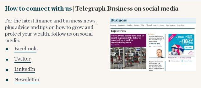 How to connect with us | Telegraph Business on social media