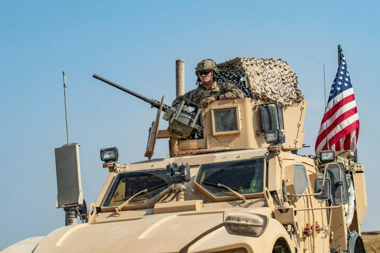 During a period of political chaos, the country has also seen a rise of rocket and mortar attacks against Iraqi bases housing US soldiers (AFP Photo/Delil SOULEIMAN)