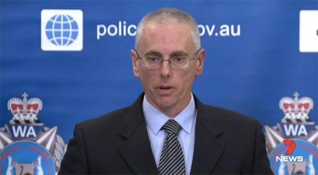 Det snr sgt Darren Hart fears the guns will fall into the wrong hands. Picture: 7 News