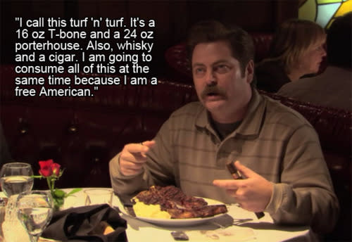 Parks and Recreation\': All of Ron Swanson\'s Quotes About ...