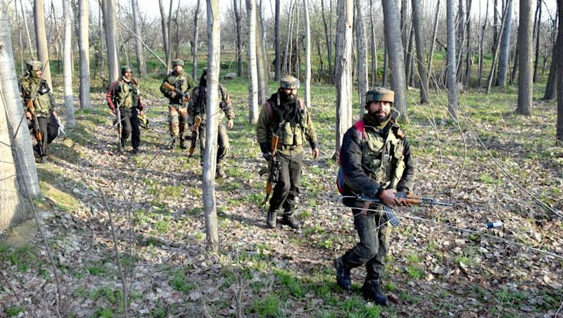 Jammu and Kashmir: One Terrorist Gunned Down by Security Forces in Budgam Encounter