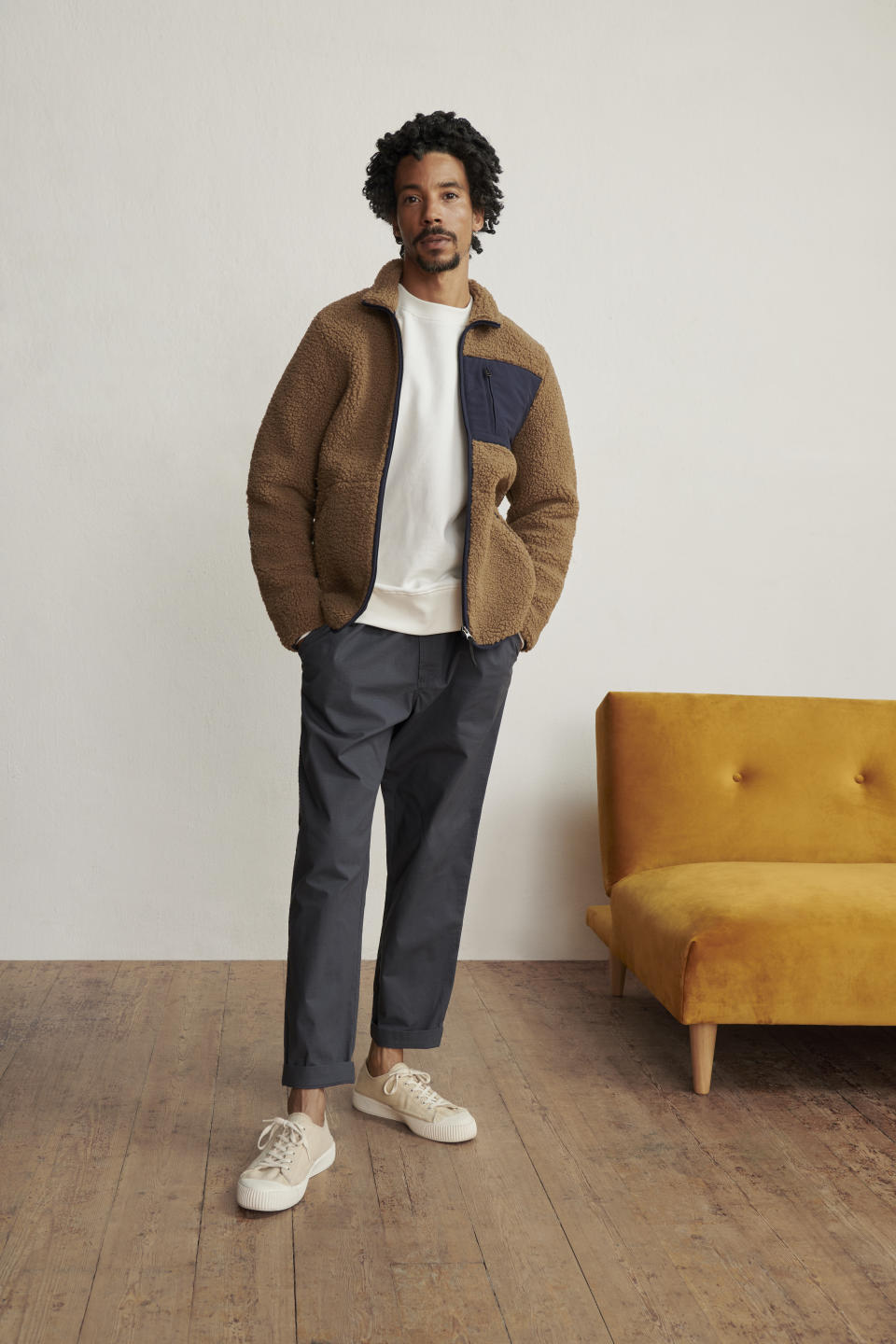 The affordable collection for women, men and children has come just in time for autumn. (John Lewis & Partners)